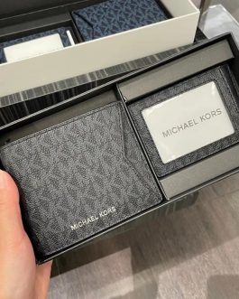 Michael Kors 男士商務錢包卡包鑰匙扣禮盒