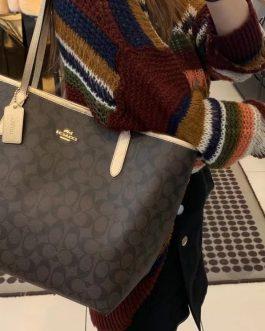 Coach 敞口購物袋