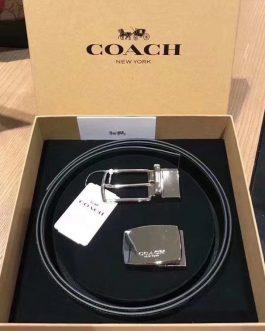 Coach 幼款皮帶禮盒套裝