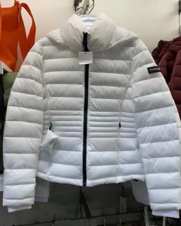 Calvin klein 女士連帽秋冬保暖棉服外套